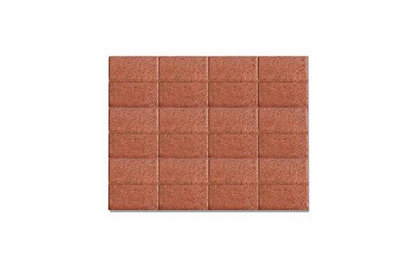 Composizione-pavimento-autobloccante-mattone-liscio-rosso