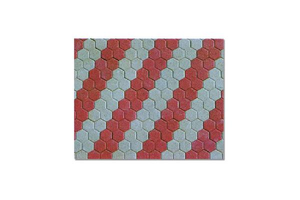 Composizione-pavimento-autobloccante-trifoglio-rosso-e-grigio