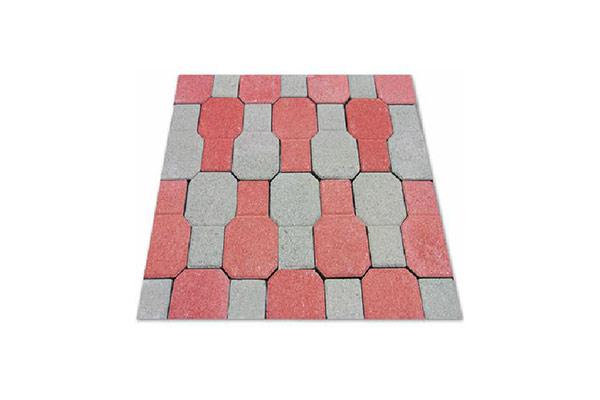 Composizione-pavimento-autobloccante-ventaglio-rosso-e-grigio