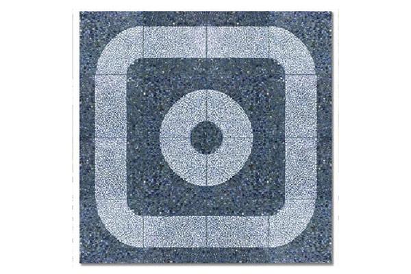 Composizione-pavimento-curva-e-fascia-ghiaia-scura-e-bianco-Carrara