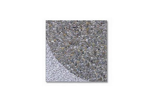 Composizione-pavimento-stella-ghiaia-scura-bianco-Carrara