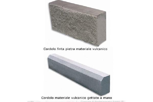 Cordolo-materiale-vulcanico