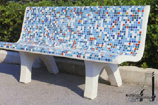 Panchine In Cemento Da Giardino Prezzi.Arredi Urbani Artistica Meridionale