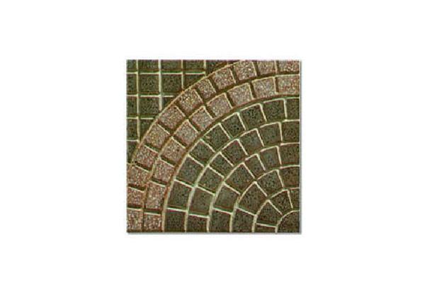 Pavimento-porfido-levigato-cerchio-grande-doppio-rosso-e-graniglia-naturale