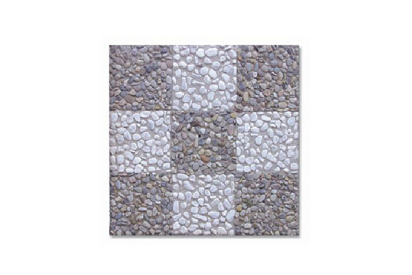 Pavimento-scacchiera-ghiaia-scura-bianco-Carrara