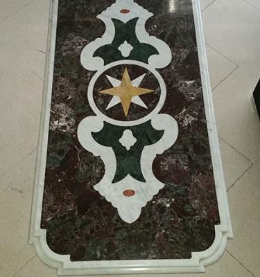 Tavolino-marmo-con-base-ghisa